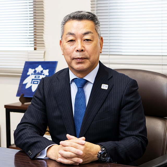 学校長 𠮷田 和市